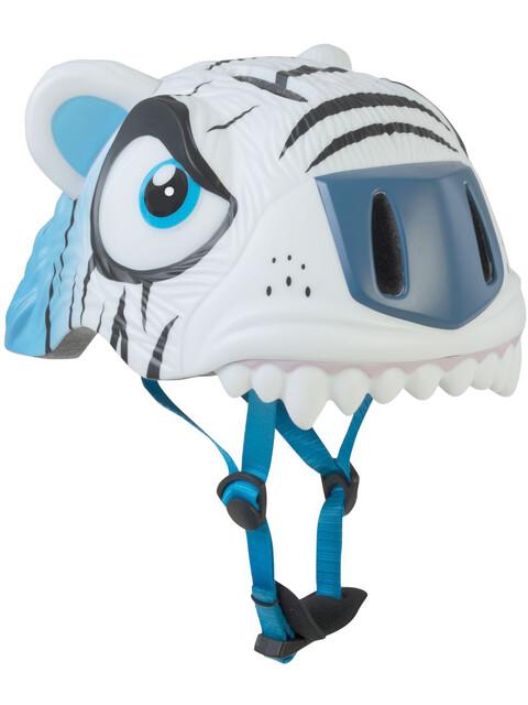 Crazy Safety Tiger Helm weiß